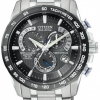 นาฬิกาข้อมือผู้ชาย Citizen Eco-Drive รุ่น AT4010-50E, Sapphire Radio Controlled AT Chrono Perpetual