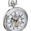 นาฬิกาพก Stuhrling Original รุ่น 6053.33113, Mechanical Vintage Stainless Steel Pocket Watch