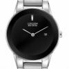 นาฬิกาผู้หญิง Citizen รุ่น GA1050-51E, Eco-Drive Axiom Black 30m Elegant