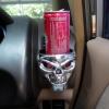 ที่วางแก้วนำ้ในรถยนต์รูปหัวกระโหลก