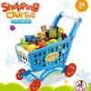 รถเข็นซุปเปอร์มาเก็ต Shopping Cart&Food play set