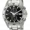 นาฬิกาผู้ชาย Citizen รุ่น AN3460-56E, Stainless Steel Black Dial Chronograph Sports Watch