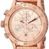 นาฬิกาผู้หญิง Nixon รุ่น A4041044, Nixon 38-20 Chrono Rose Gold Women's Watch