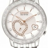 นาฬิกาข้อมือผู้หญิง Citizen Eco-Drive รุ่น EV1000-58A, Desire Diamonds Heart WR 30m