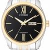 นาฬิกาผู้ชาย Citizen รุ่น NP4054-50E, Luxury Automatic Sapphire