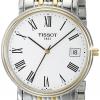 นาฬิกาผู้หญิง Tissot รุ่น T52248113, T-Classic Desire Two-Tone