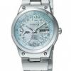 นาฬิกาข้อมือผู้หญิง Citizen Eco-Drive รุ่น EW3081-59D, Wicca 100m Dolphins & Flowers Girls Date Watch