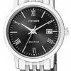 นาฬิกาข้อมือผู้หญิง Citizen Eco-Drive รุ่น EW1580-50E, Sapphire Japan Elegant