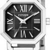 นาฬิกาข้อมือผู้หญิง Citizen Eco-Drive รุ่น EP5890-54E, Sapphire Japan Micro Dial Watch