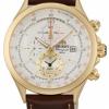 นาฬิกาผู้ชาย Orient รุ่น FTD0T001N0, Tachymeter Alarm Quartz Leather Strap Men's Watch