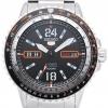 นาฬิกาข้อมือผู้ชาย Seiko รุ่น SRP347J1, Seiko 5 Automatic 24 Jewels Men's 100m