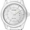 นาฬิกาข้อมือผู้ชาย Citizen Eco-Drive รุ่น AW1030-50B, WR 50m Elegant Multi-Date Display