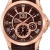 นาฬิกาข้อมือผู้ชาย Seiko รุ่น SNP038P1, Premier Kinetic Perpetual Calendar Sapphire Rose Gold Tone