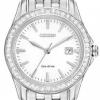 นาฬิกาข้อมือผู้หญิง Citizen Eco-Drive รุ่น EW1901-58A, Swarovski Crystal Silhouette Elegant Watch