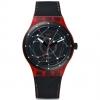 นาฬิกา ชาย-หญิง Swatch รุ่น SUTR400, Sistem Red Automatic