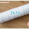 กระทงจีบ กระทงขาว กระดาษ 2616 สีขาว 800ใบ