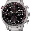 นาฬิกาข้อมือผู้ชาย Seiko รุ่น SSC349P1, Prospex Sky Solar Chronogprah Pilots