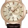 นาฬิกาผู้ชาย Orient รุ่น FET0P001W0, Multi-Eyes Sun & Moon Sapphire Automatic