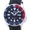 นาฬิกาผู้ชาย Seiko รุ่น SKX009J1-LS6, Automatic Diver's Ratio Black Leather 200M