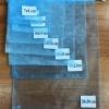 ถุงผ้าแก้ว 15x20 cm (6x8นิ้ว) มีสีให้เลือก