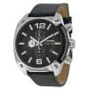 นาฬิกาผู้ชาย Diesel รุ่น DZ4341, Overflow Black Dial Leather
