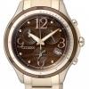 นาฬิกาข้อมือผู้หญิง Citizen Eco-Drive รุ่น FB1373-52W, Chronograph Japan Sapphire Diamonds