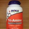 Now Foods Tri-Amino 120 Capsules