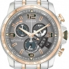 นาฬิกาข้อมือผู้ชาย Citizen Eco-Drive รุ่น BY0106-55H, Global Radio Controlled Dual Tone Sapphire
