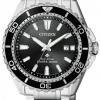 นาฬิกาข้อมือผู้ชาย Citizen Eco-Drive รุ่น BN0190-82E, Promaster Professional Diver's