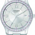 นาฬิกาผู้หญิง Citizen รุ่น EV0040-59A, Quartz Women's Watch