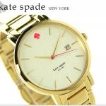 นาฬิกาผู้หญิง Kate Spade รุ่น 1YRU0009, New York Gramercy Gold Tone Stainless Steel