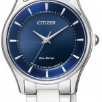 นาฬิกาผู้หญิง Citizen Eco-Drive รุ่น EM0400-51L, Citizen Collection Sapphire Made In Japn Women's Watch