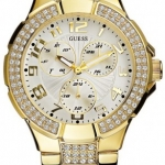 นาฬิกา Guess Model G13537L, Prism Gold Tone Swarovski Quartz