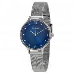 นาฬิกาผู้หญิง Skagen รุ่น SKW2307, Anita Blue Dial Crystal Mesh Bracelet Women's Watch