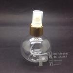 ขวดบอล 150 ml ใส+สเปรย์ทอง 10 ชิ้น