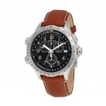 นาฬิกาผู้ชาย Hamilton รุ่น H77912535, Khaki Aviation X-Wind Chronograph Quartz GMT