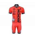 (พร้อมส่ง) ชุดจักรยานแขนสั้น Rock Racing Red ราคาส่ง