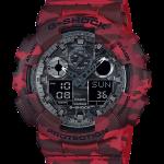 นาฬิกา คาสิโอ Casio G-Shock รุ่น GA-100CM-4A, Camouflage Series Analog Digital