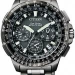 นาฬิกาข้อมือผู้ชาย Citizen Eco-Drive รุ่น CC9025-51E, F900 Satellite Wave World Time Titanium Sapphire