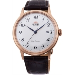 นาฬิกาผู้ชาย Orient รุ่น RA-AC0001S10B, Bambino II Automatic Classic Leather Men's Watch