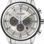 นาฬิกาข้อมือผู้ชาย Citizen Eco-Drive รุ่น CA4034-50A, 100m Multi-Dial Chronograph