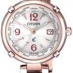 นาฬิกาผู้หญิง Citizen Eco-Drive รุ่น EC1047-57A, xC Radio Controlled World Time Japan Sapphire Women's Watch