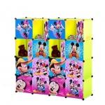 ตู้เก็บของ ตู้เสื้อผ้าเด็ก DIY ลาย มิกกี้เมาส์ Mickey Minnie Mouse