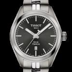 นาฬิกาผู้หญิง Tissot รุ่น T1012104406100, PR 100 Titanium Quartz Lady