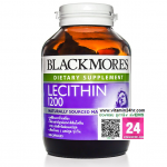 Blackmores Lecithin 1200 mg. แบลคมอร์ส เลซิติน 1200 มก. บรรจุ 100 แคปซูล
