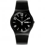 นาฬิกา ชาย-หญิง Swatch รุ่น SUOB715, Backup Black