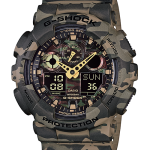 นาฬิกา คาสิโอ Casio G-Shock รุ่น GA-100CM-5A, Camouflage Series Analog Digital