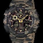 นาฬิกา คาสิโอ Casio G-Shock รุ่น GA-100CM-5A, Camouflage Series Analog Digital