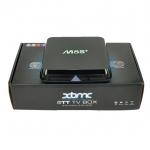 กล่องแอนดรอยด์สมาร์ททีวี Android Smart Box รุ่น M8S+ ระบบ Android Amlogic S812 Quad Core Ram 2GB/Flash8GB สีดำ