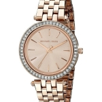 นาฬิกาผู้หญิง Michael Kors รุ่น MK3366, Mini Darci Crystals Gold Tone Quartz Women's Watch
